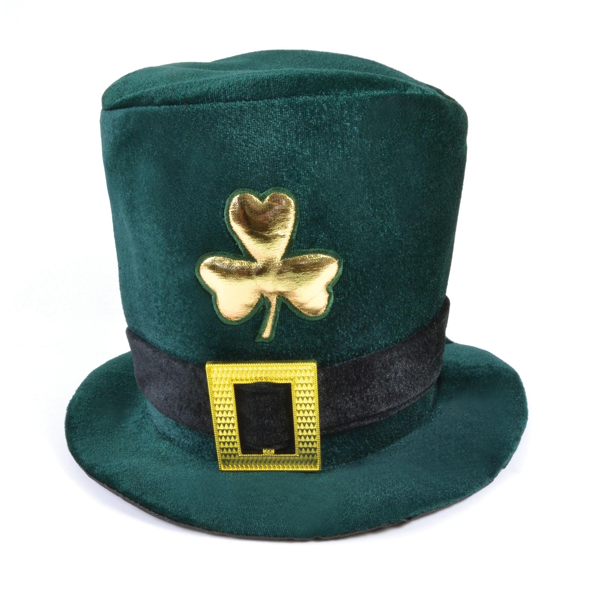Зеленая ирландская шляпа на День святого Патрика