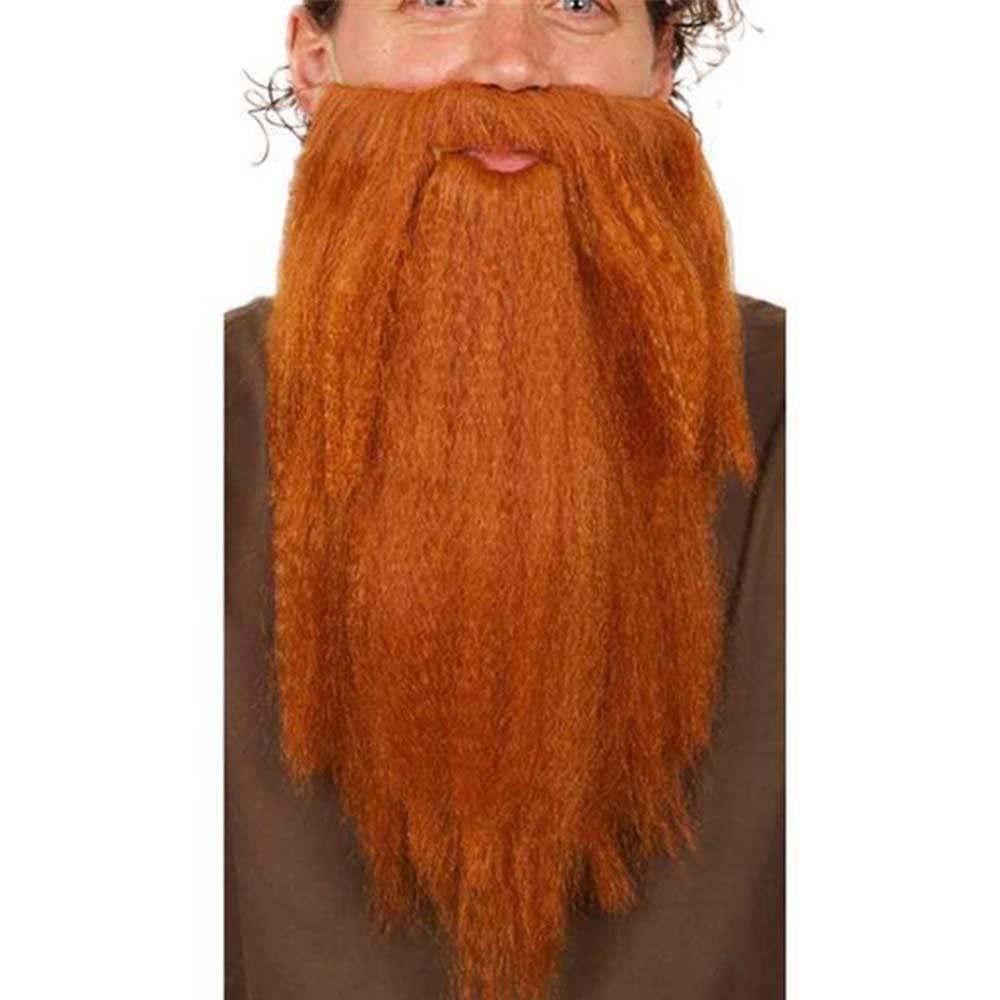 Рыжая длинная накладная борода