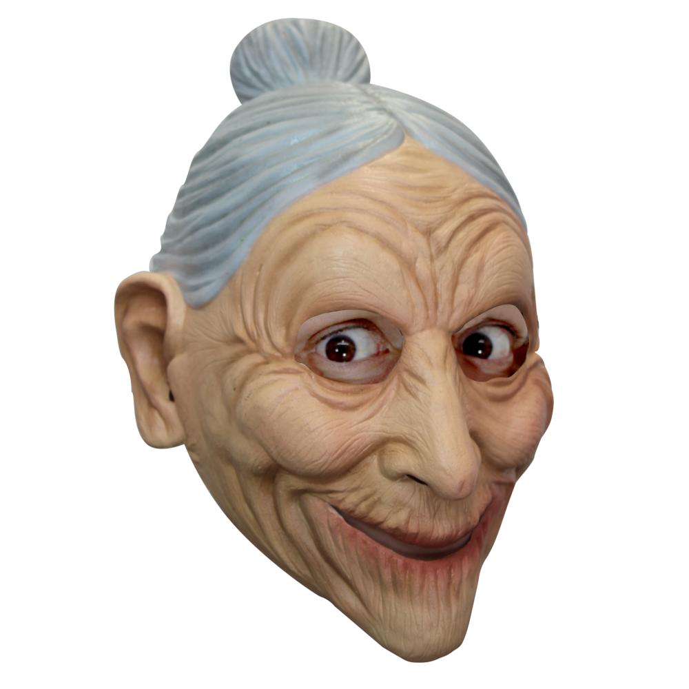 Латексная маска деда антистресс дед мороз