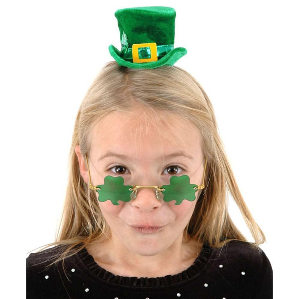 Зеленые очки на День святого Патрика